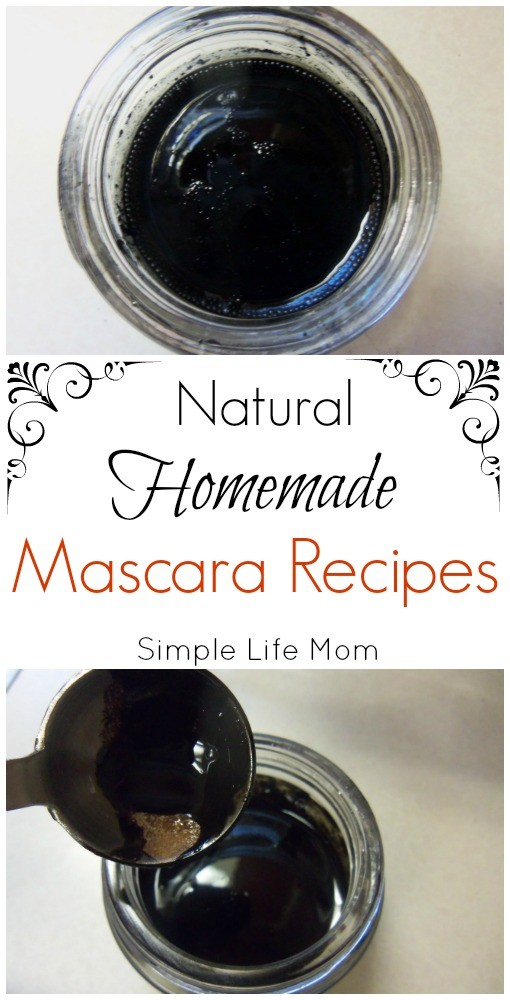 Homemade Natural Mascara Recipes