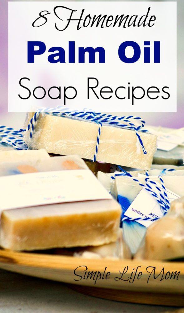8 Homemade Palm Oil Soap Recipes