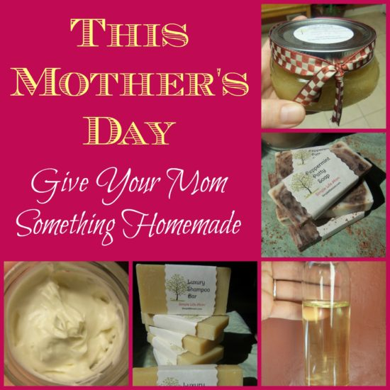 A Homemade Mothers Day