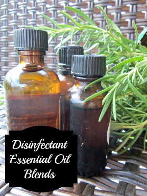 Disinfectant Essential Oil Blends