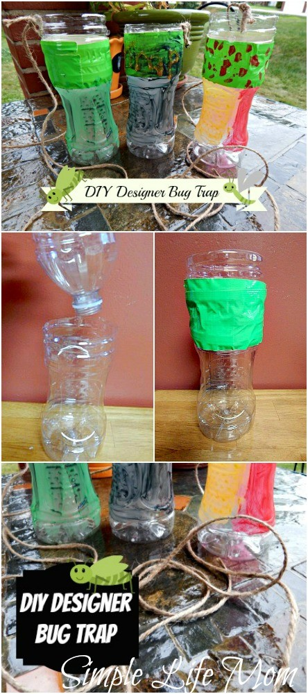DIY Designer Bug Traps from Simple Life Mom