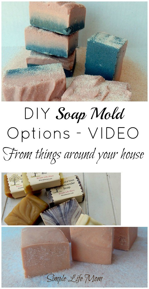 DIY Options for Soap Molds