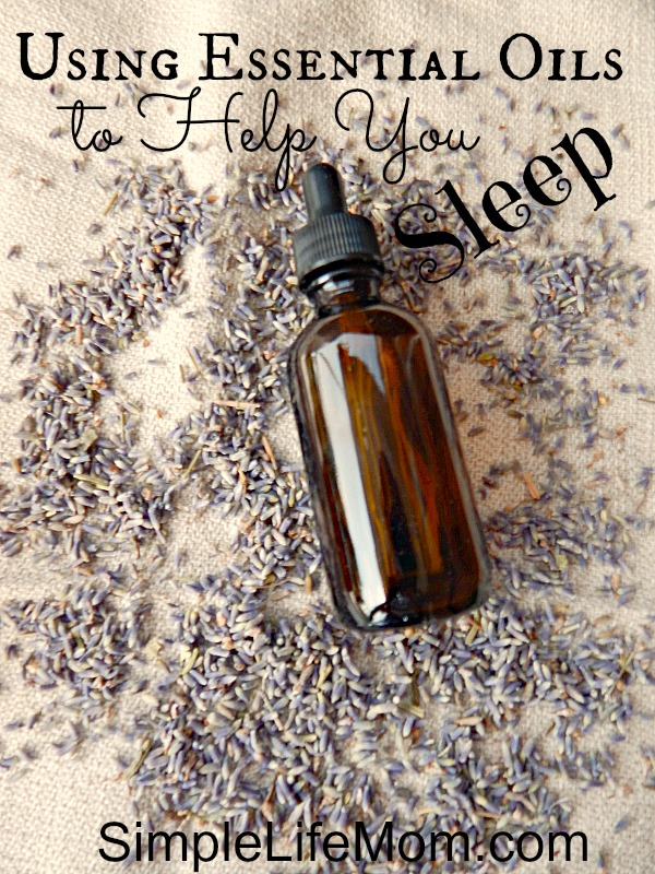 Essential Oils to Help You Sleep