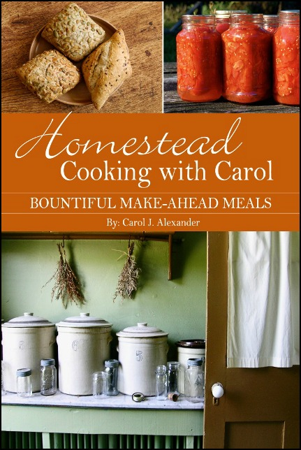 Homestead Cooking With Carol Cookbook Giveaway