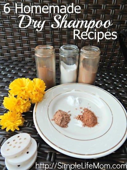 6 Homemade Dry Shampoo Recipes for all hair types by Simple Life Mom