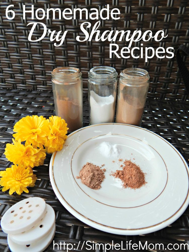6 Homemade Dry Shampoo Recipes