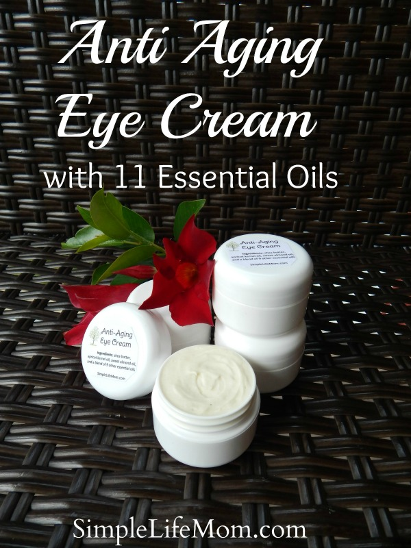 Anti Aging Eye Cream With 11 Essential Oils Simple Life Mom