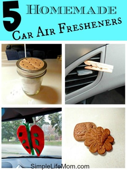 Top 10 Natural Beauty and Body Recipes: 5 Homemade Car Air Fresheners