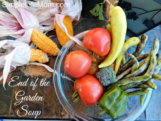 End of the Garden Soup by Simple Life Mom