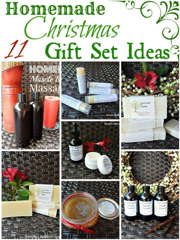 11 Homemade Christmas Gift Set Ideas