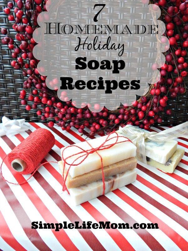 7 Homemade Holiday Soap Recipes