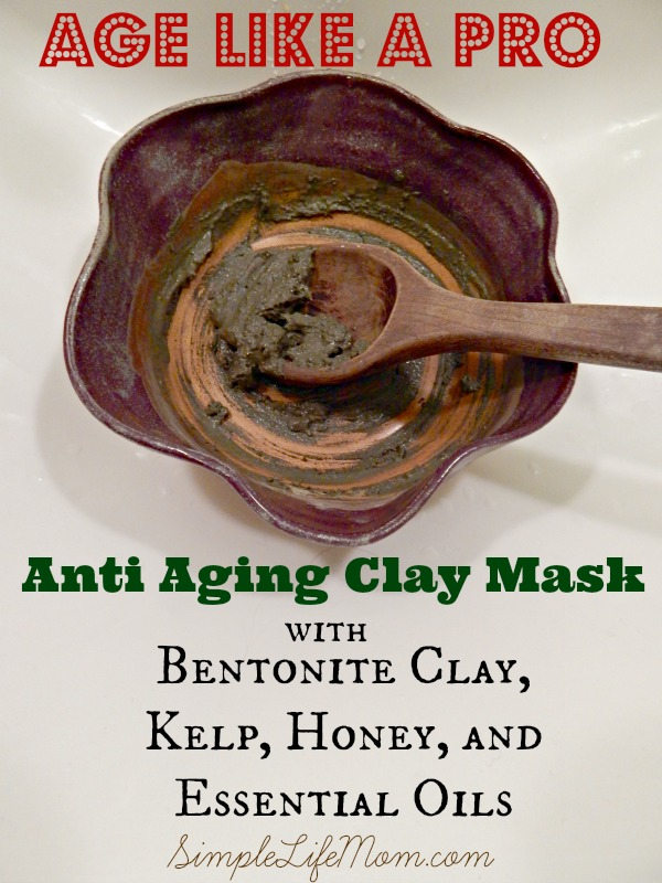 Age Like a Pro – Anti Aging Clay Mask