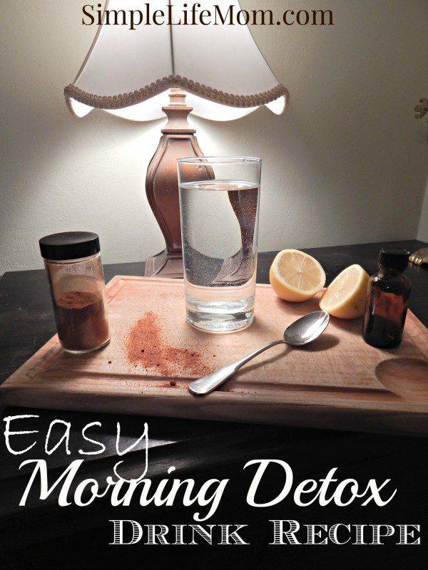 Easy Morning Detox Drink Recipe