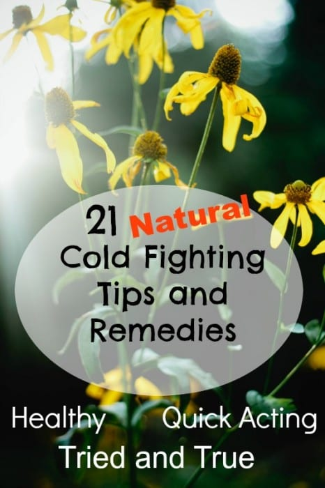 21 Cold Fighting Tips and Remedies2
