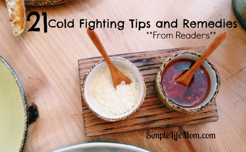 21 Cold Fighting Tips and Remedies from Readers