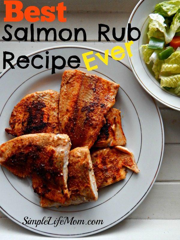 Best Salmon Rub Recipe Ever