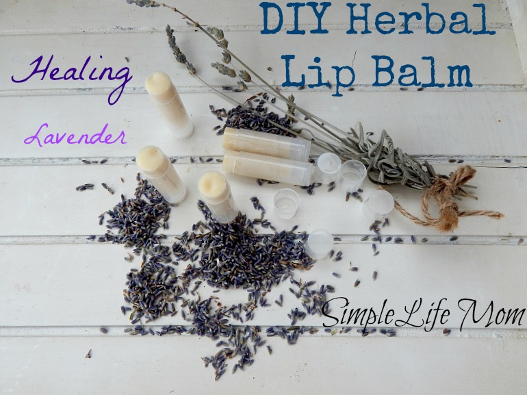 DIY Herbal Lip Balm