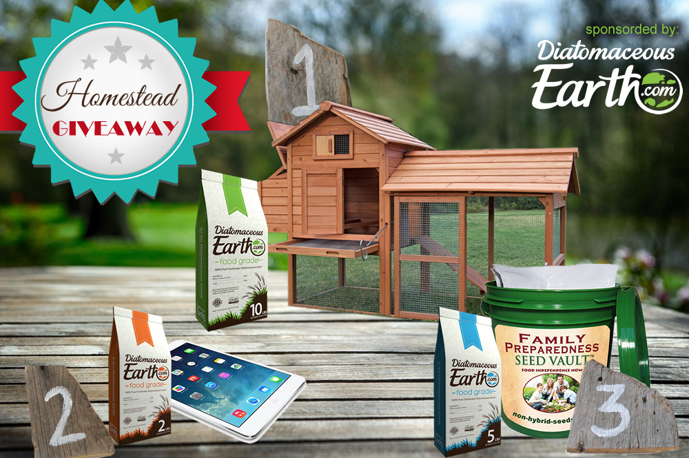 Get Rid of Insects Naturally Plus Giveaway