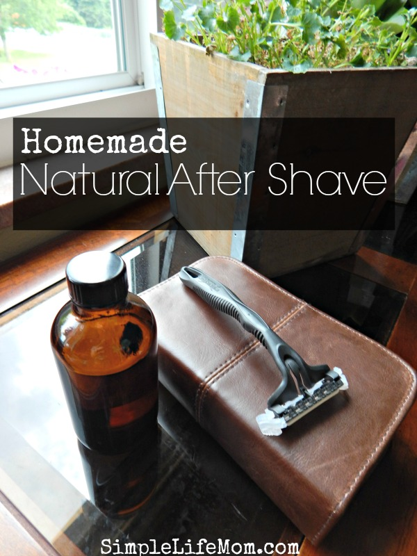 Natural Homemade After Shave Recipe