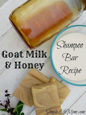 Goat Milk and Honey Shampoo Soap Recipe
