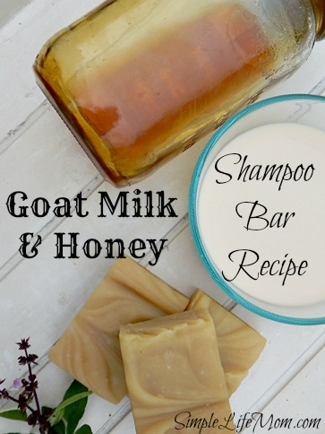 Goat Milk and Honey Shampoo Soap Recipe