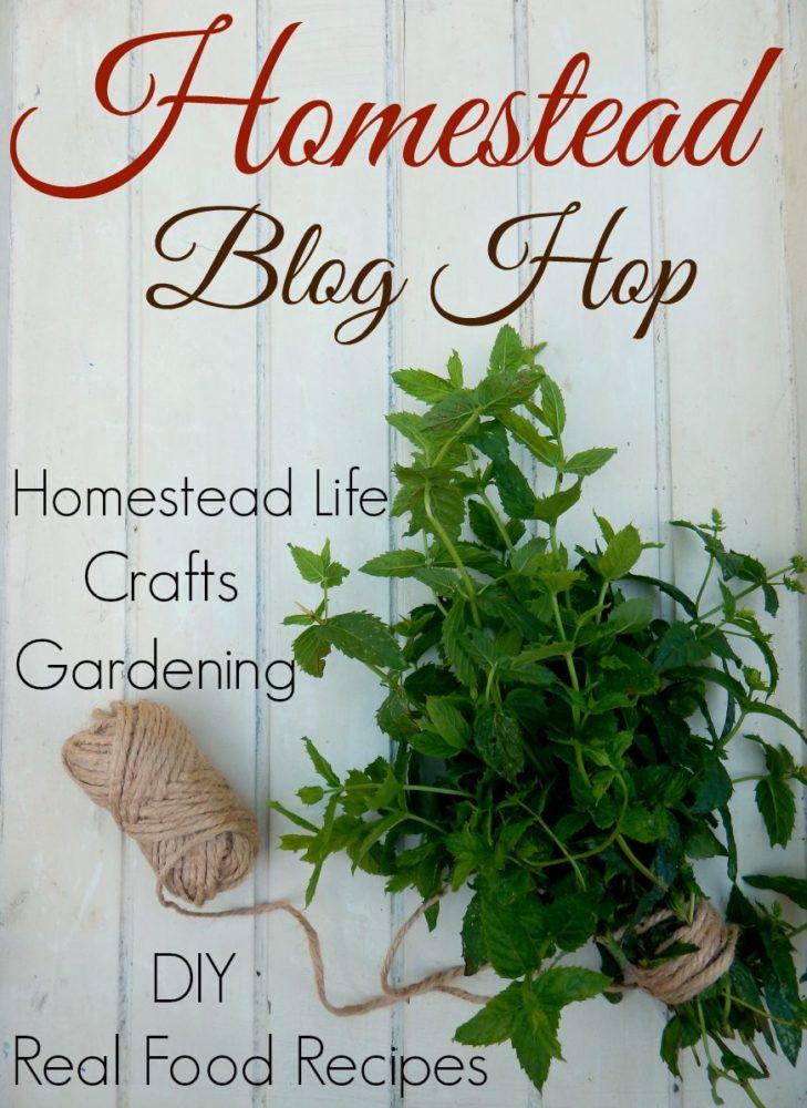 Homestead Blog Hop 63