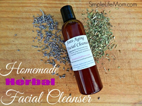 21 Handmade Christmas Gifts - Natural Facial Cleanser an Herbal Face Wash from Simple Life Mom