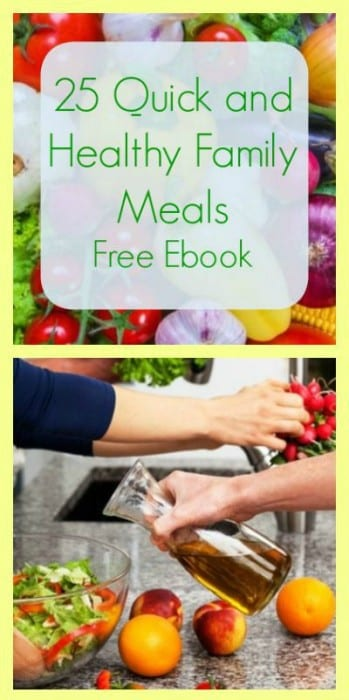 17 Natural Back to School DIYs - 25 Quick and Healthy Family Meals Free Ebook from Calm Healthy Sexy