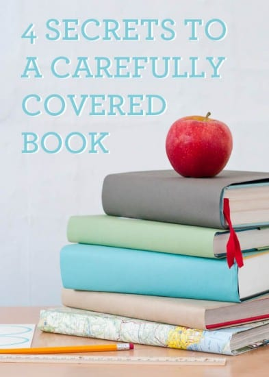 17 Natural Back to School DIYs - Book Covers