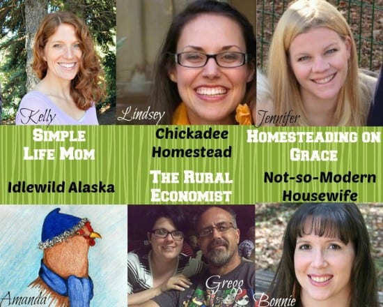 Homestead Blog Hop Hosts - Link up every Wednesday - Simplelifemom.com