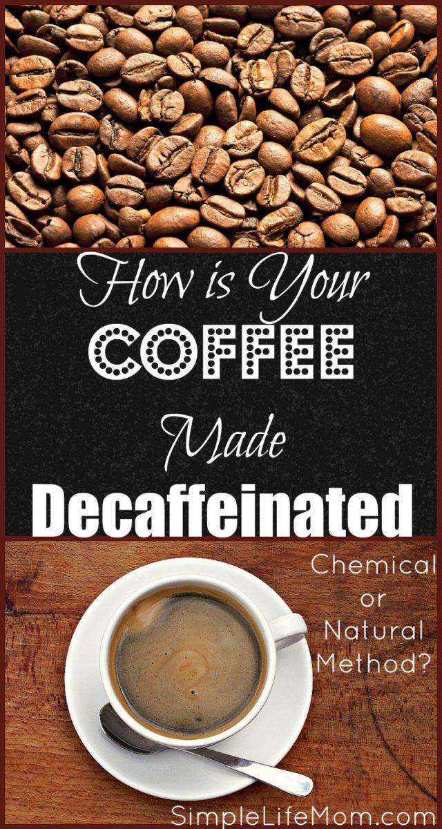 How is Coffee Made Decaffeinated