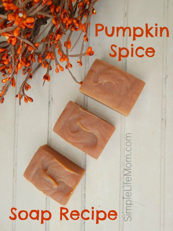 Pumpkin Spice Soap Recipe