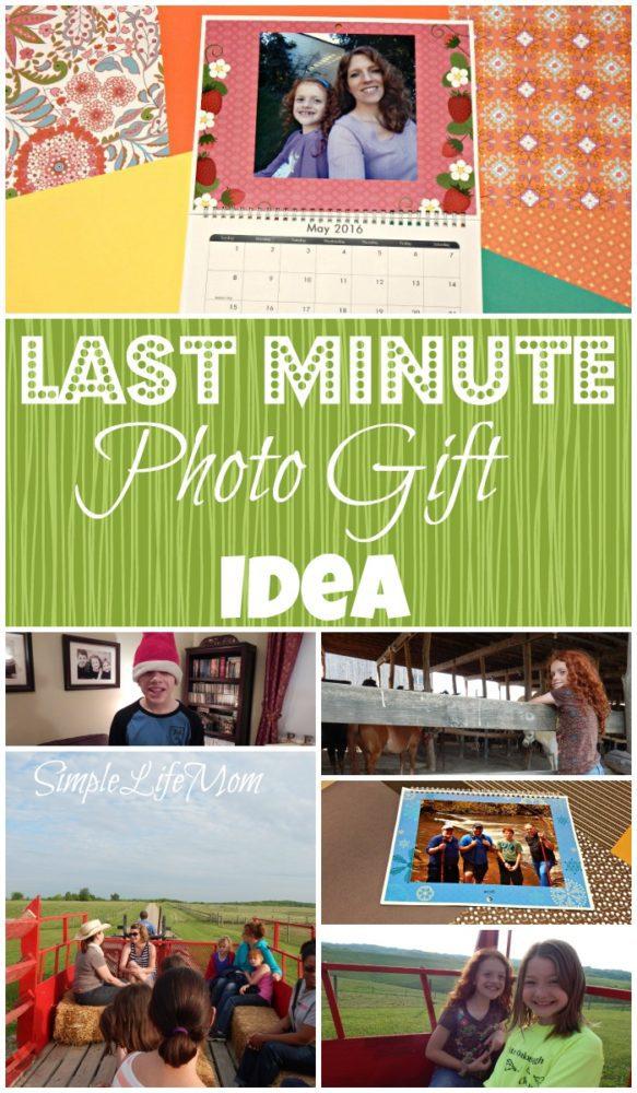 Last Minute Photo Gift Idea