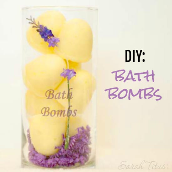 33 Natural Gift Ideas with Essential Oils: bath-bombs