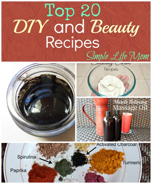 Top 20 DIY and Beauty Recipes from 2015
