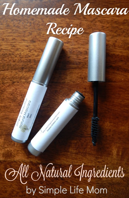 Homemade Mascara Recipe That Works!