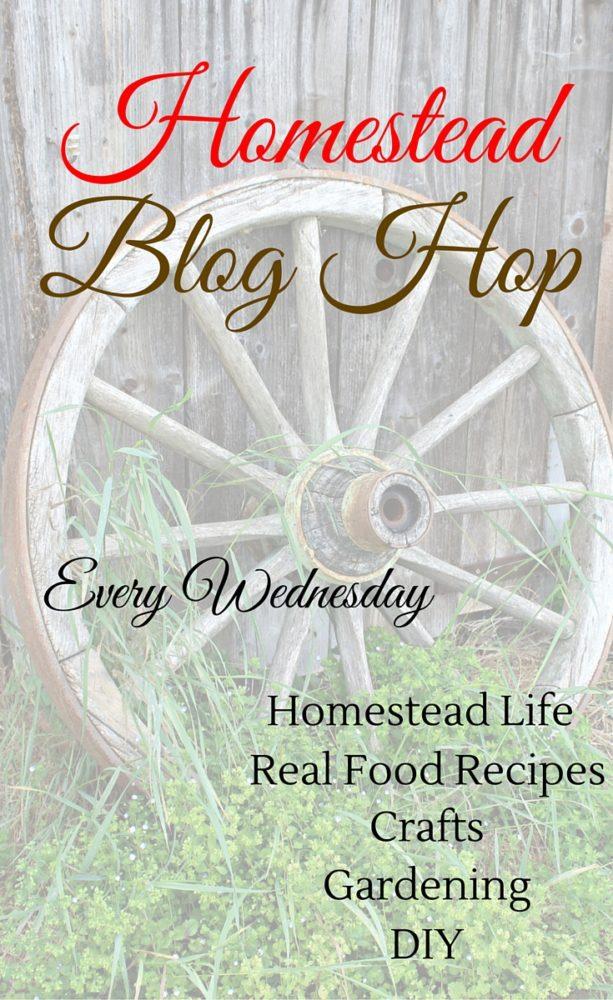 Homestead Blog Hop 79