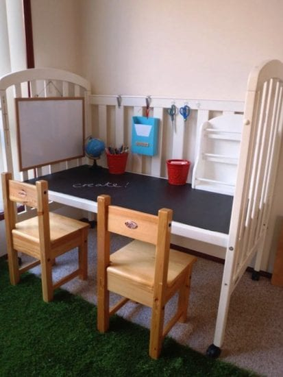 Frugal Organization Ideas for Kids Bedroom from Simple Life Mom