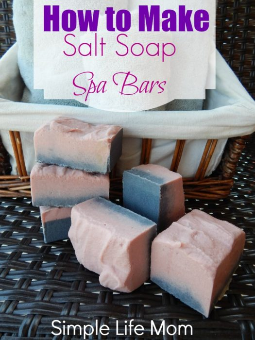 How to Make Natural Salt Soap Bars