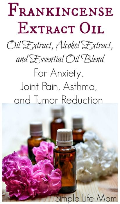 Frankincense Extract Oil for Pain and Anxiety from Simple Life Mom