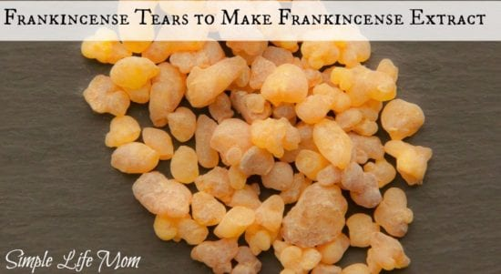 21 Handmade Christmas Gifts - Frankincense Extract Oil for Pain and Anxiety from Simple Life Mom