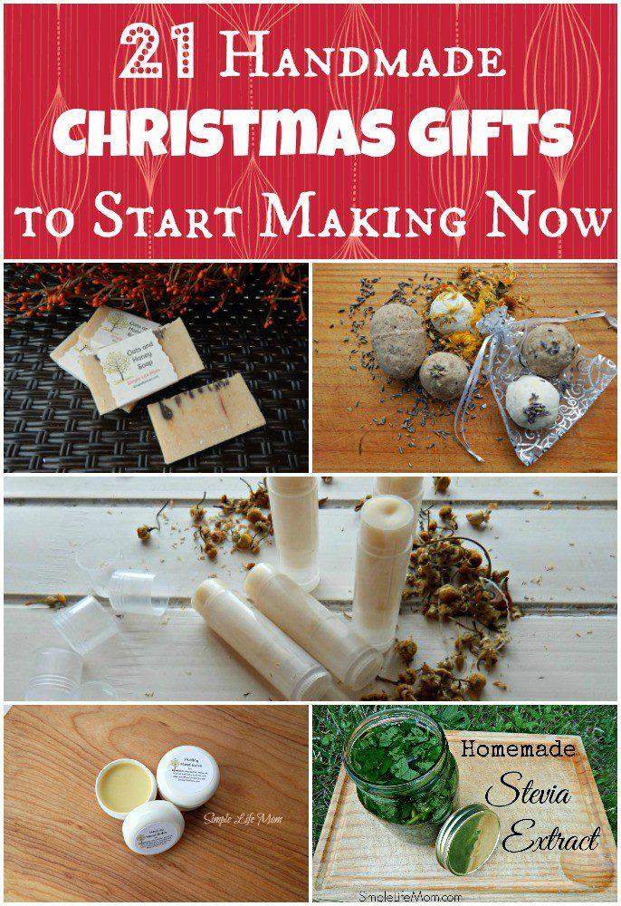 21 Handmade Christmas Gifts to Start Making Now