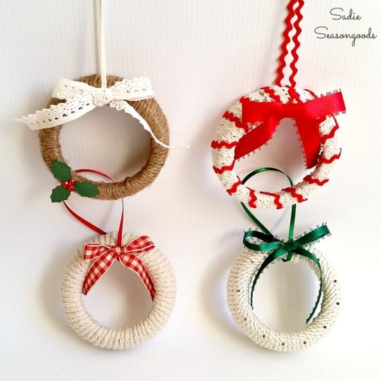 12 DIY Old Fashioned Christmas Ornaments
