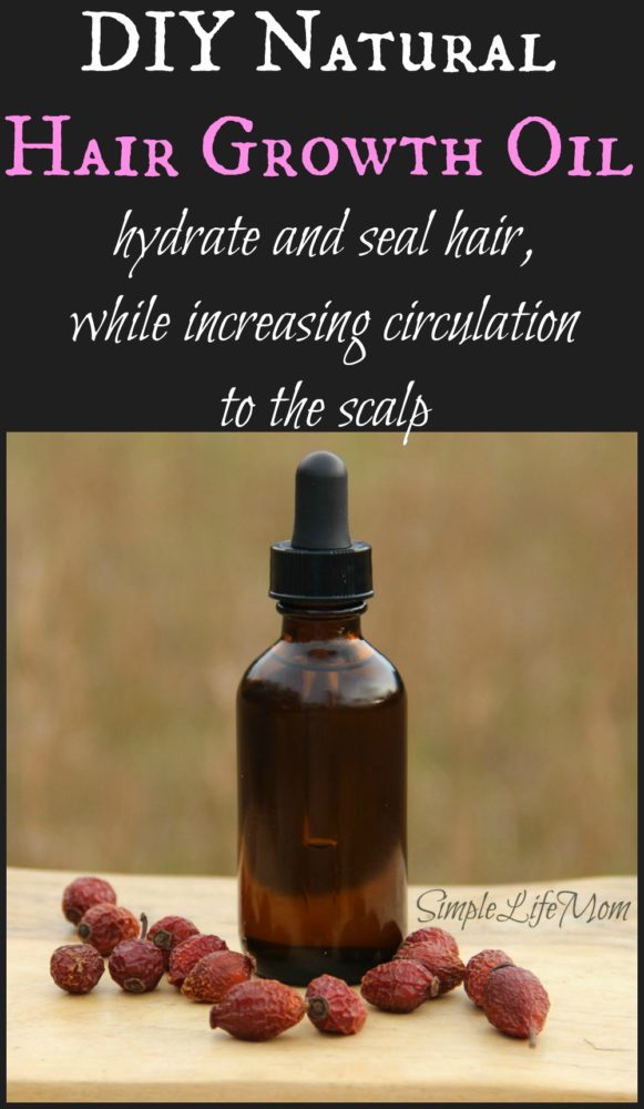Natural Hair Growth Oil Recipe