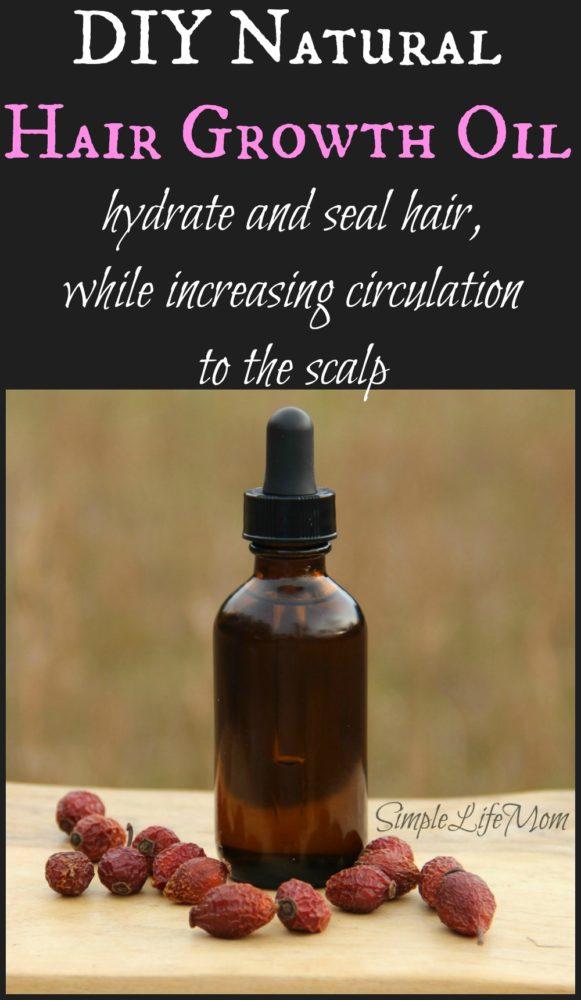 Natural Hair Growth Oil Recipe