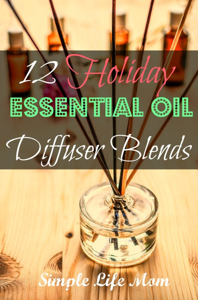 12 Holiday Essential Oil Diffuser Recipes