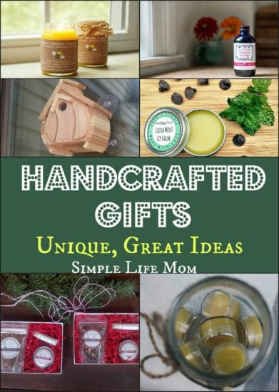 Handcrafted Gifts - Unique, Great Ideas