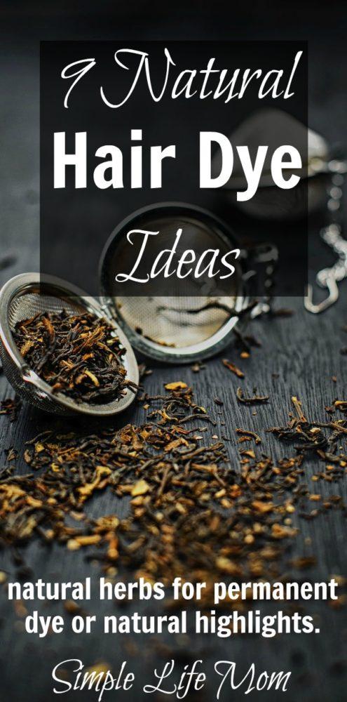 Go Organic: 9 Natural Hair Dye Ideas