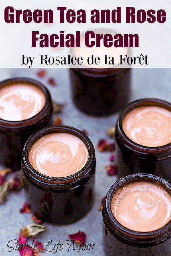 Green Tea and Rose Facial Cream