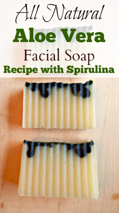 Aloe Vera Facial Soap Recipe